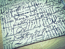 Shabby Chic Lino Natural 1771-tela de algodón. precio por 1/2 metros
