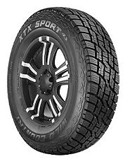 1 Multi-mile Wild Country Xtx Sport 4s(suv)  - 245x70r16 Tires 2457016 245 70 16