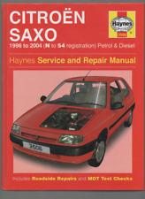 HAYNES SERVICE REPAIR MANUAL CITROEN SAXO 1996 - 2004 N - 54 REG PETROL DIESEL