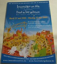 Advertising event Community Fete Immeubles Belgium - unposted