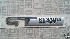 MONOGRAMME RENAULT MEGANE CLIO TWINGO GT SPORT ORIGINAL BADGE LOGO EMBLEME