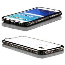 Urcover® Bumper Aluminio Diamond Protección Móvil Case Marco Vidrio Protector