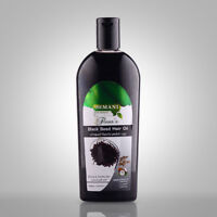 Hemani Black Seed Hair Oil With Castor & Coconut・200ml・ Strong & Healthy