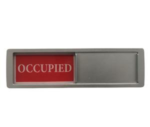 UK SELLER SLIDING VACANT / OCCUPIED DOOR SIGN PLAQUE SEAT HOTEL ROOM TOILET LOO