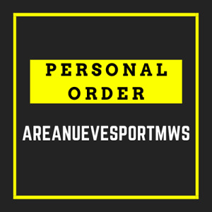 PERSONAL ORDER for areanuevesportmws