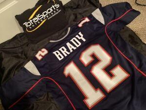 New England Patriots Tom Brady CUSTOM XL Jersey