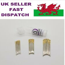 Cross Stitch Needles Embroidery Gold Tail 30 Pack 10 of each Size 22, 24, 26,