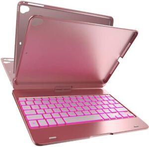 iPad Keyboard Case For iPad 5th/6th 9.7 Gen iPad Air 2&1 W/ 360 Rotatable