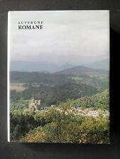 AUVERGNE ROMANE PAR LE CHANOINE BERNARD CRAPLET - EDITIONS ZODIAQUE