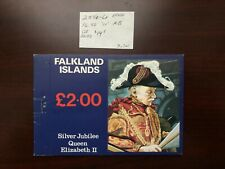Falkland Islands Stamps 1977 Silver Jubilee Booklet Scott #254a-6a Mint VFNH