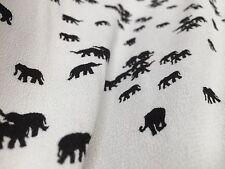 French Crepe Fabric  - Dawn Patrol  - Crepe Print Fabric