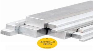 Barra Piatta Alluminio Anticorodal 6082 mm 40x10x1mt - fresa tornio cnc hobby