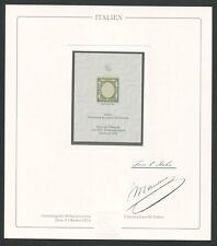 ITALIEN Nr. 1 OFFICIAL REPRINT UPU CONGRESS 1984 MEMBERS ONLY !! RARE !! z1616