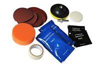 Headlights Restoration Lens Polishing Sealer Cleaning Kit