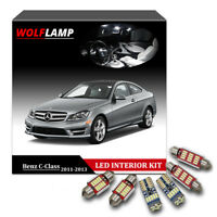 14Pcs LED Interior Car Light For 2011-2013 Mercedes Benz C-Class W204 Canbus Kit