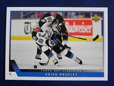 1993-94 Upper Deck UD Series 1 #121 Brain Bradley Tampa Bay Lightning