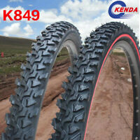 Kenda Clincher MTB Bike Tire 24/26*1.95/2.1 Thicken Red Edge Cross-Country Tyres