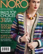 Noro :Magazine #15: Fall-Winter 2019-20 New! 31 patterns!