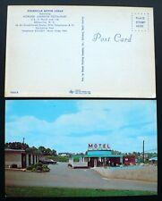 1950s Statesville Motor Lodge, US 21 N. & I-40, Statesville, North Carolina