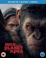 Planet Delle Scimmie - Guerra Per The 3D Blu-Ray Nuovo (7848