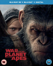 Planet Of The Apes - War For The Planet Of The Apes 3D Blu-Ray NEW BLU-RAY (7848