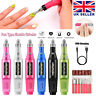 Electric Nail File Drill Portable Professional Manicure Pedicure Machine Set Kit