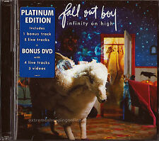 FALL OUT BOY Infinity On High Platinum Edition CD 2007 Mercury Bx12 Like NEW