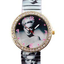 Marilyn Monroe Women Ladies Girl Fashion Quartz Steel Wrist Watch Watches