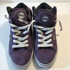 Woman's Pastry Purple High Top Tennis Shoes Size 6