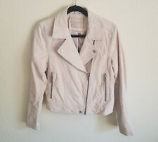 BLANKNYC Vanilla Cream Suede Moto Jacket Medium SOLD OUT