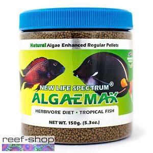 New Life Spectrum ALGAEMAX Regular Pellet 150g Fish Food Fast Free USA Shipping