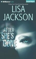 After She's Gone by Lisa Jackson (2016, CD, Unabridged)