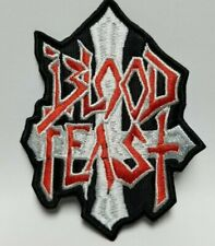 BLOOD FEAST DIE-CUT EMBROIDERED  PATCH