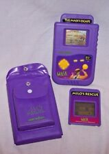 SUPER RARE 1995 NEW LINE PRODUCTIONS THE MASK LCD GAME WIZARD W/ 2 GAMES & CASE