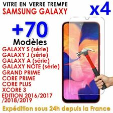 Samsung S9/10/S8/A5/A6/J4/J5/J6/A10/A20e/A40/A50 Vitre Protection Verre Trempé