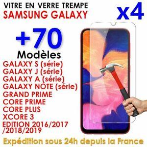 Samsung S9/10/S8/A5/A6/J4/J5/J6/A21s/A20e/A40/A51 Vitre Protection Verre Trempé
