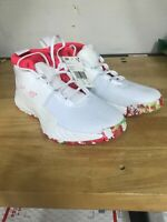 """Adidas Dame 5 DS Basketball Shoes White Pink """"All Skate"""" Size 7 (BB9312 NWOB)"""