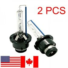 2X D2S HID XENON HEADLIGHT BULBS BMW E38 E39 E46 E65 E66 M3 M5 X3 X5 WHITE 6000K