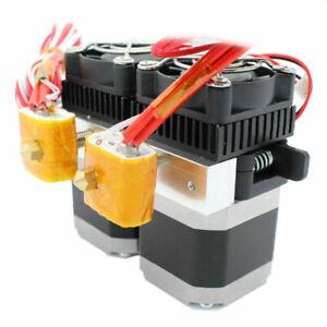 MK8 Dual Extruder mit 0.4mm Düse für 1.75mm Filament RepRap 3D-Drucker Makerbot