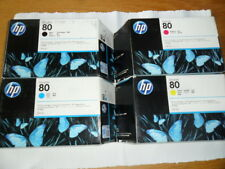 HP80 Farbe Satz  c4871a c4846a c4847a c4848a  Designjet 1050c 1055cm