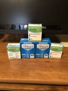 150 NIB OneTouch Test Strips exp June, 2022  + 200 Lancets