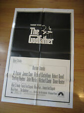 The Godfather Orig, 1sh Movie Poster '72 Francis Ford Coppola crime classic,