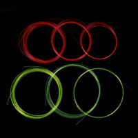 5m Fiber Optic Bow Sight Replacement Pins Compound Bow Slingshot Hunting Fiber U