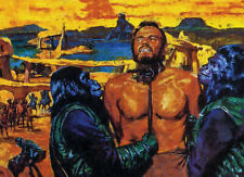 More details for planet of the apes art collectable handpainted limited edition #1 of 50 canvas