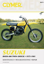 Clymer Repair Manual for Suzuki Rm50 Rm60 Rm80 Rm100 Rm125 Rm250 Rm370 Rm400 (Fits: Suzuki)