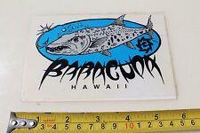New listing Barracuda Fish Surfboards Hawaii Piranha Surfboard Hawaiian Surfing Sticker