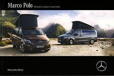 Mercedes Marco Polo 08 / 2015 catalogue brochure