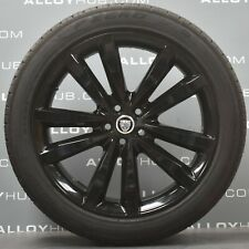"GENUINE JAGUAR F PACE 5031 VENOM 20"" INCH ALLOY WHEELS & PIRELLI TYRES SET X4"