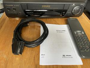 Vintage Panasonic NV-SD420 4 Head Super Drive VCR VHS Video Recorder Player