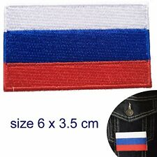 Russian flag iron on patch flag of Russia Флаг России Putin embroidery patches